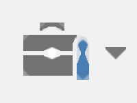 Legacy Tools icon: a gray tool box with a blue screwdriver.